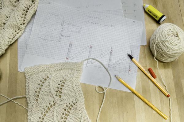 Ajour-Muster mit Bögen entwerfen
