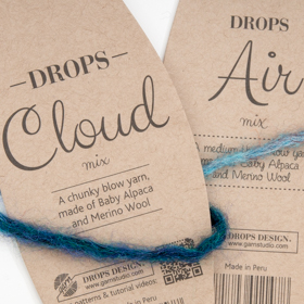 Drops Handstrickgarne Air und Cloud