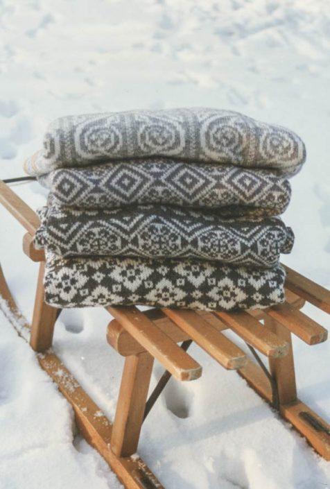 Auch keltische Muster bieten sich für traditionelle Pullover an.