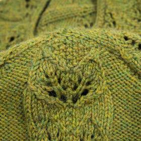 Pullover mit Blattranken